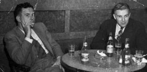 Jim Nesbitt and Art Stott, ca. 1937, photographer unknown. BC Archives call #A-04545, catalogue #HP095531.