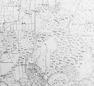 1888 Lang's map