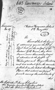 gold rush Douglas letter 1 lo