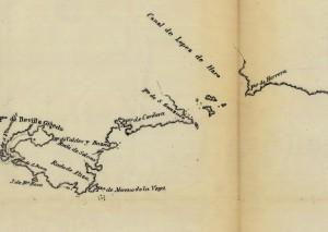 1790 Plano del Estrecho de Fuca copy