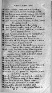 1810 Boston directory McNeil