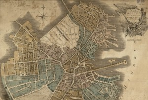 1814 Boston map crop
