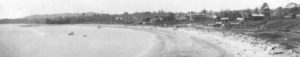 Willows Beach looking south. Undated photograph in my collection.